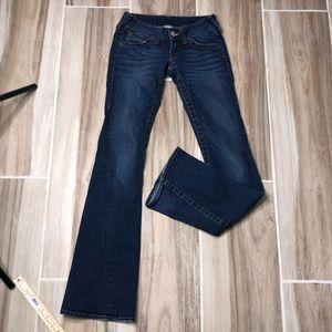 True Religion blue jeans size 25x31